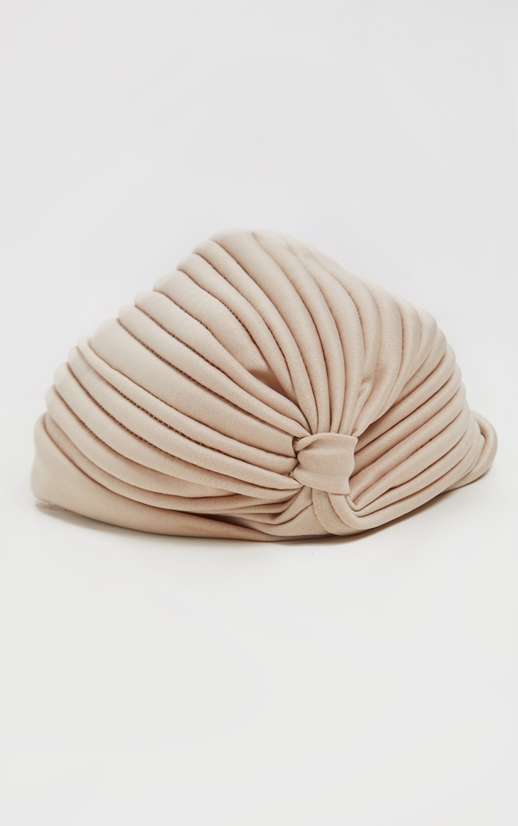 Nude Knotted Turban 2