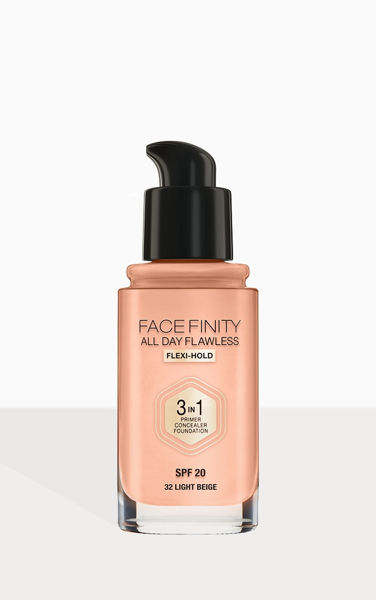 Max Factor Facefinity All Day Flawless Foundation Light Beige 3