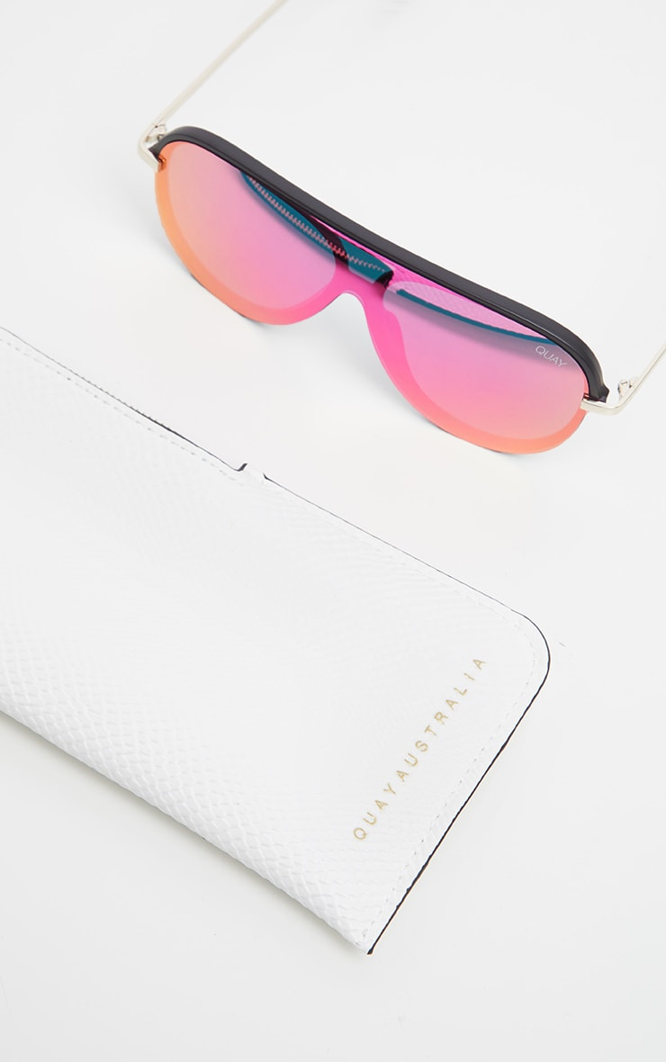QUAY Pink Purple Empire Sunglasses 3