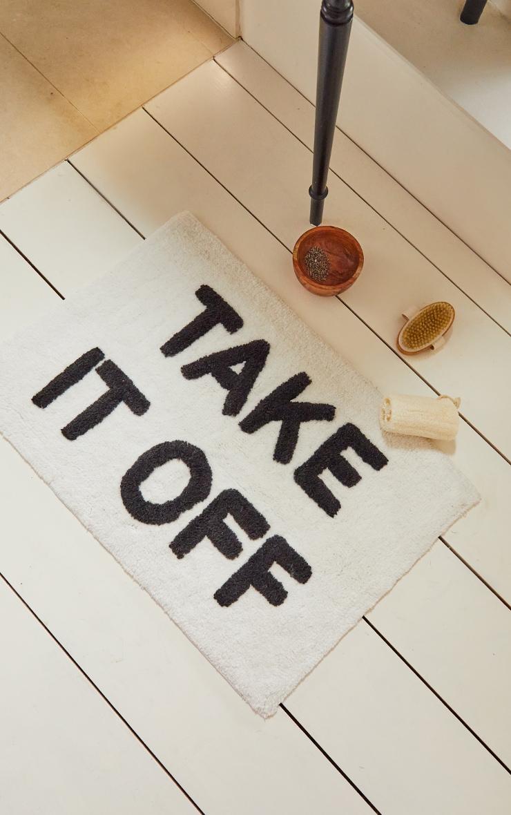 Take it Off Cotton Bath mat 2