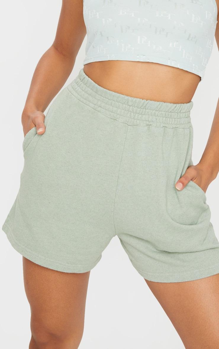 Mint Sweat Pocket Shorts 5