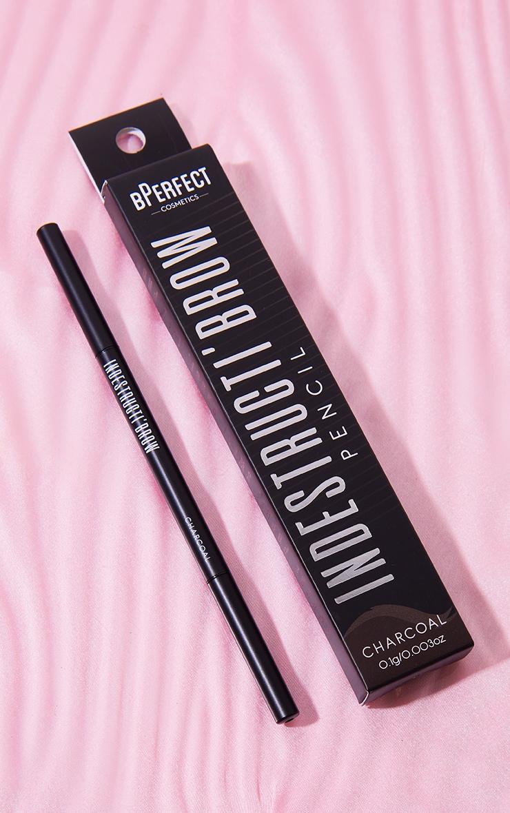 BPerfect Cosmetics Indestructi'brow Pencil Charcoal 2