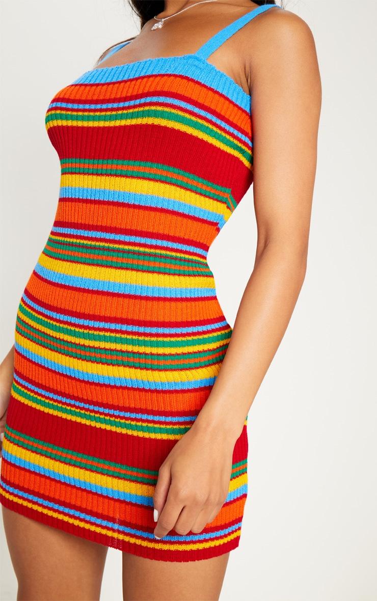 Blue Striped Dress 5