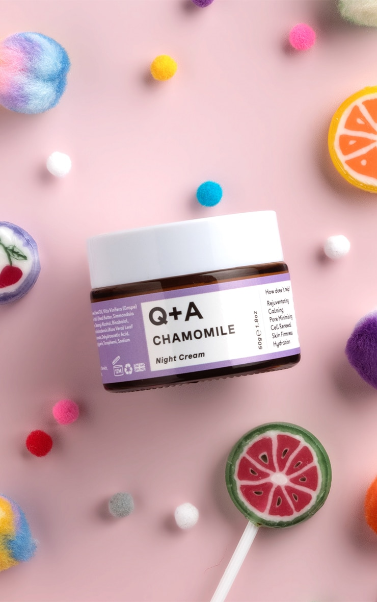 Q+A Chamomile Night Cream 1
