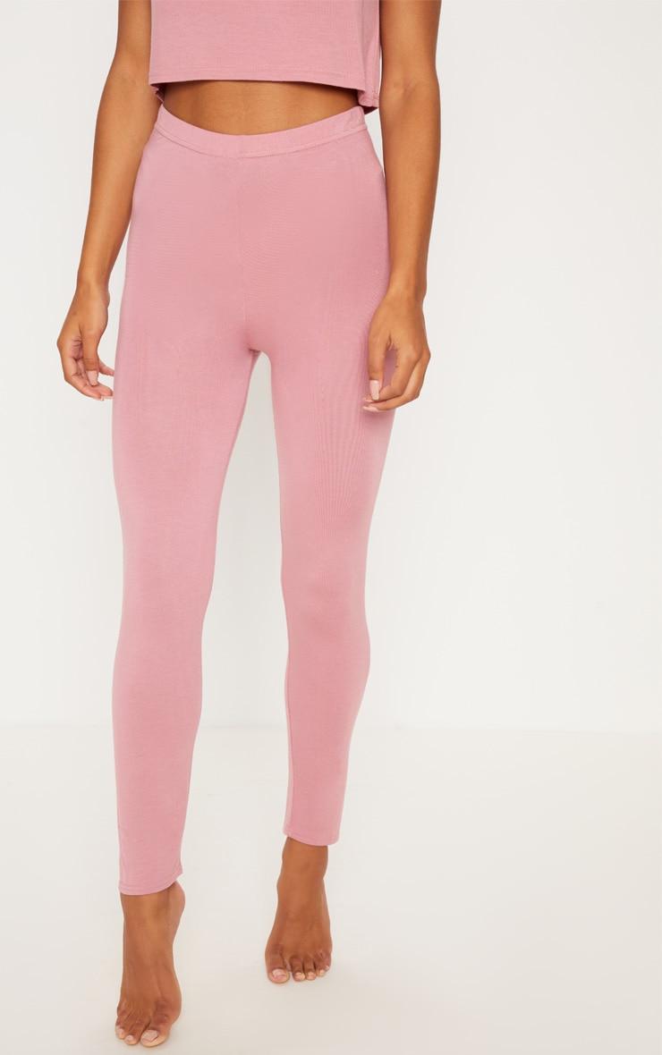 Dusty Pink Mix & Match Pyjama Leggings 2