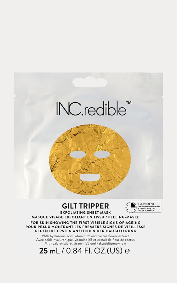 INCREDIBLE Gilttripper Face Mask 1