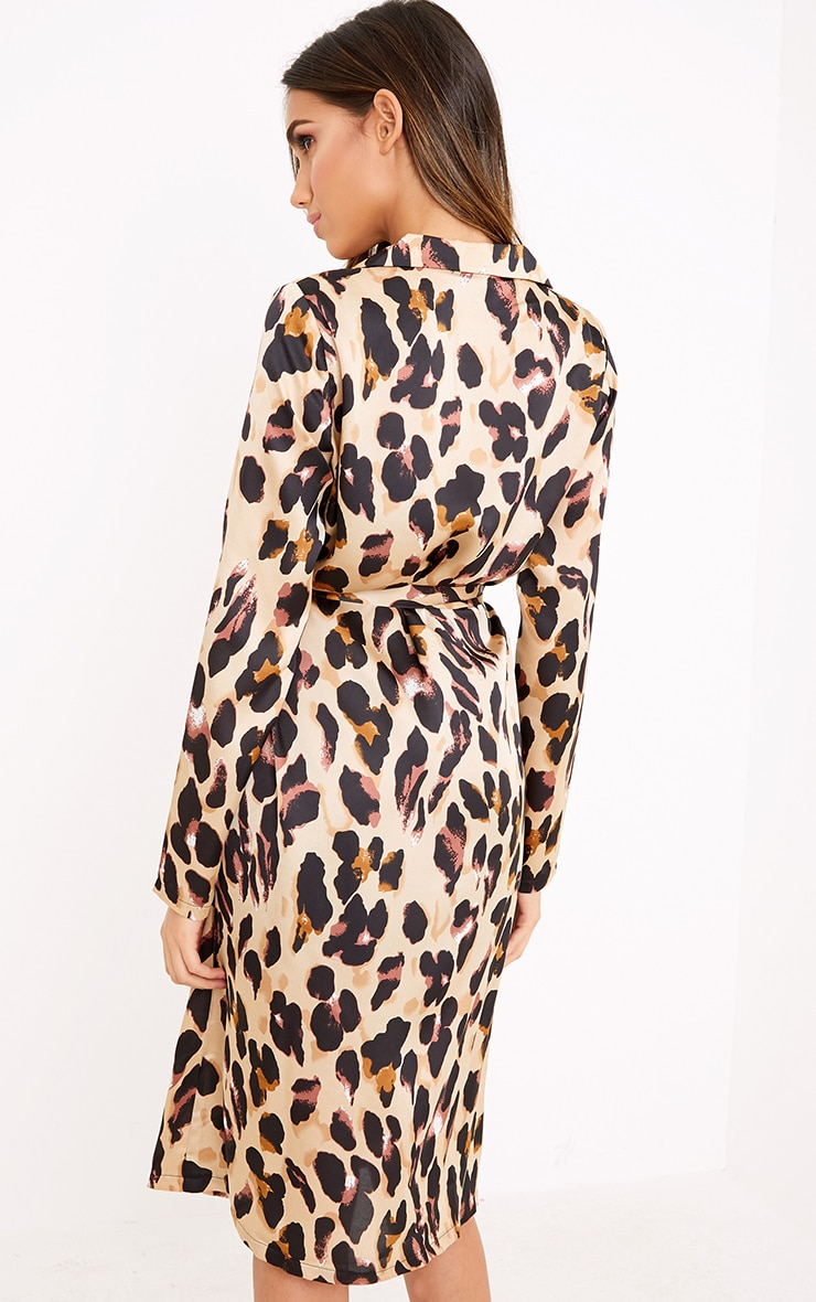 Melisende Multi Leopard Print Duster 2