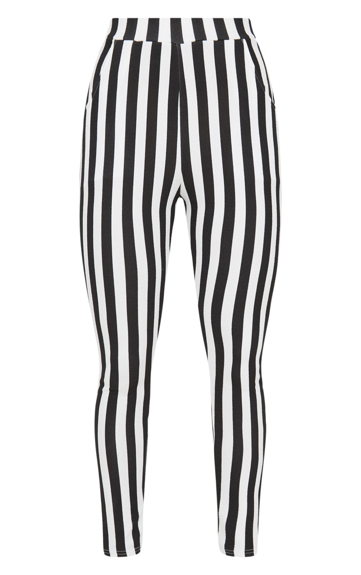 Black Stripe Skinny Trouser 3