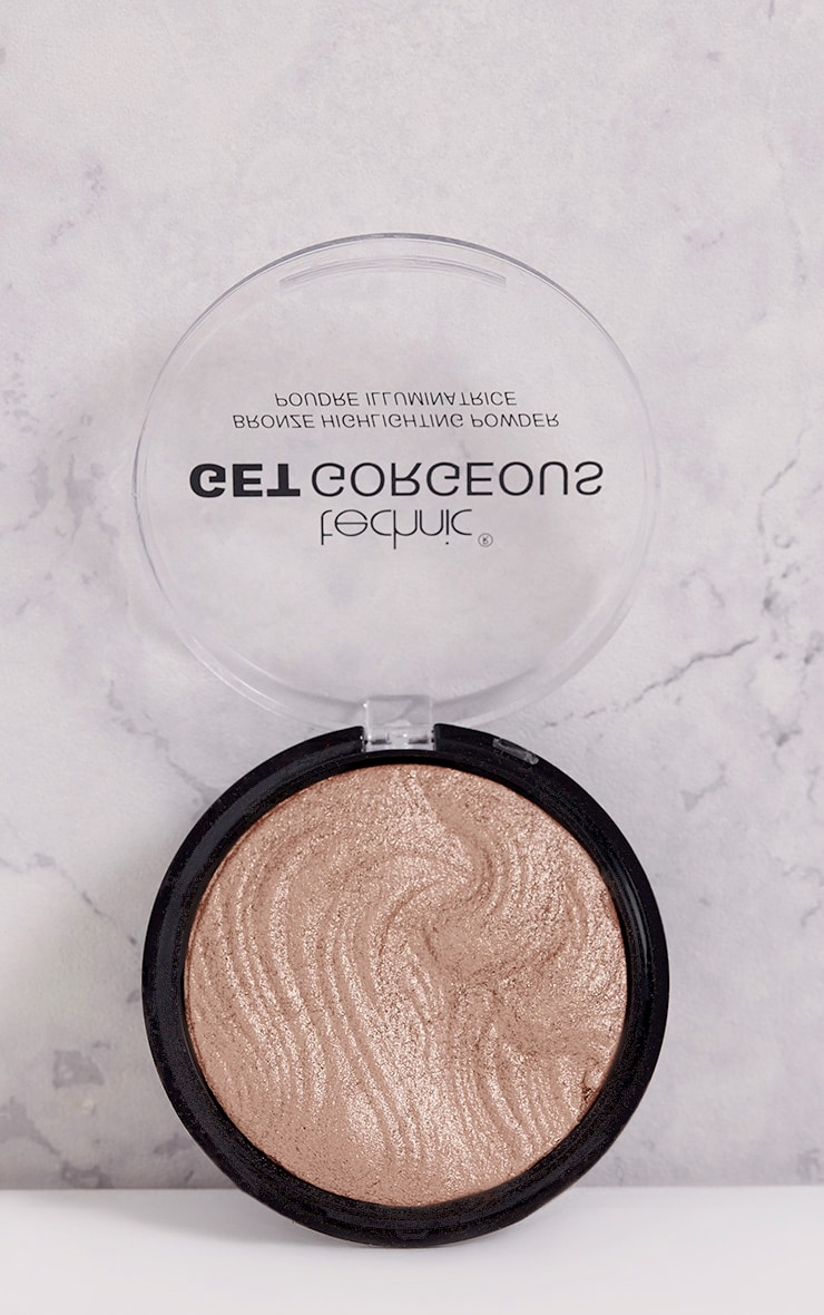 Technic Get Gorgeous Bronzing Highlighting Powder 3