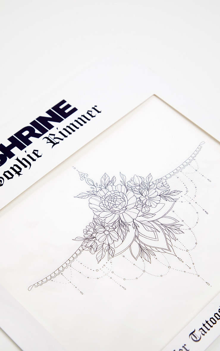 Shrine x Sophie Rimmer Under Boob Temporary Tattoos 2