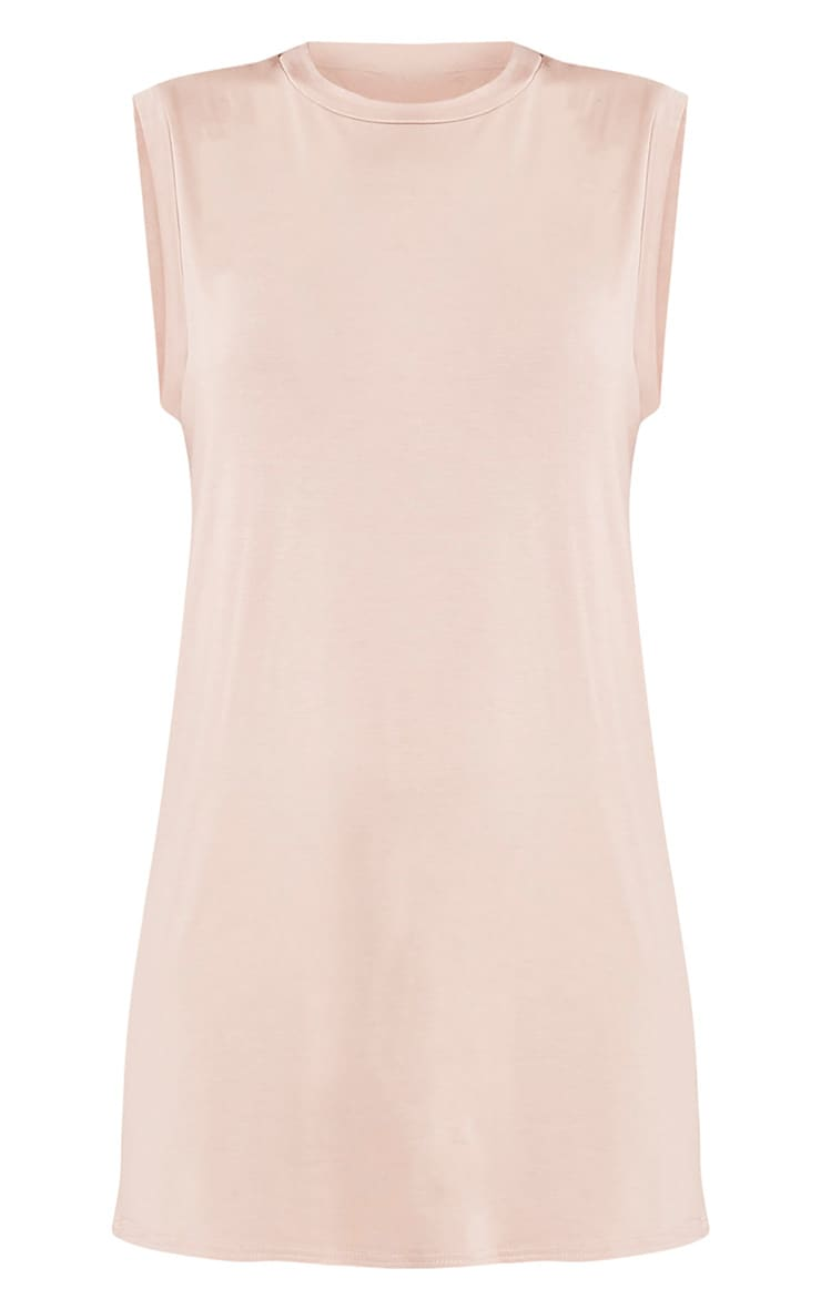 Lola Nude Sleeveless T-Shirt Dress 6