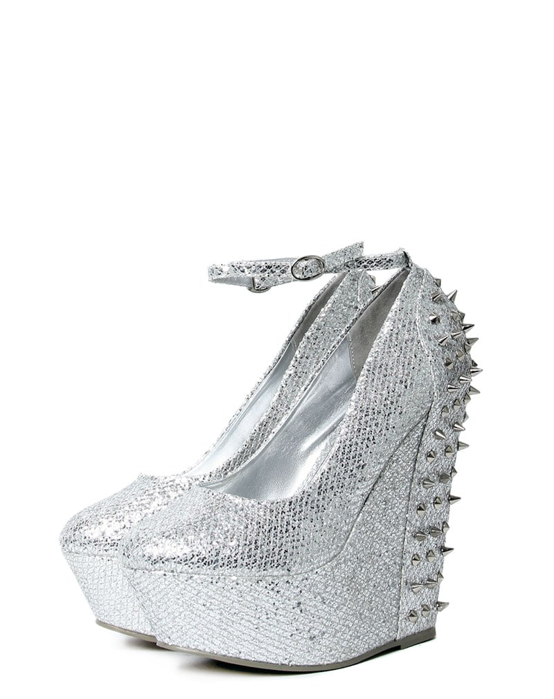 Kennedy Silver Spike Wedge  2