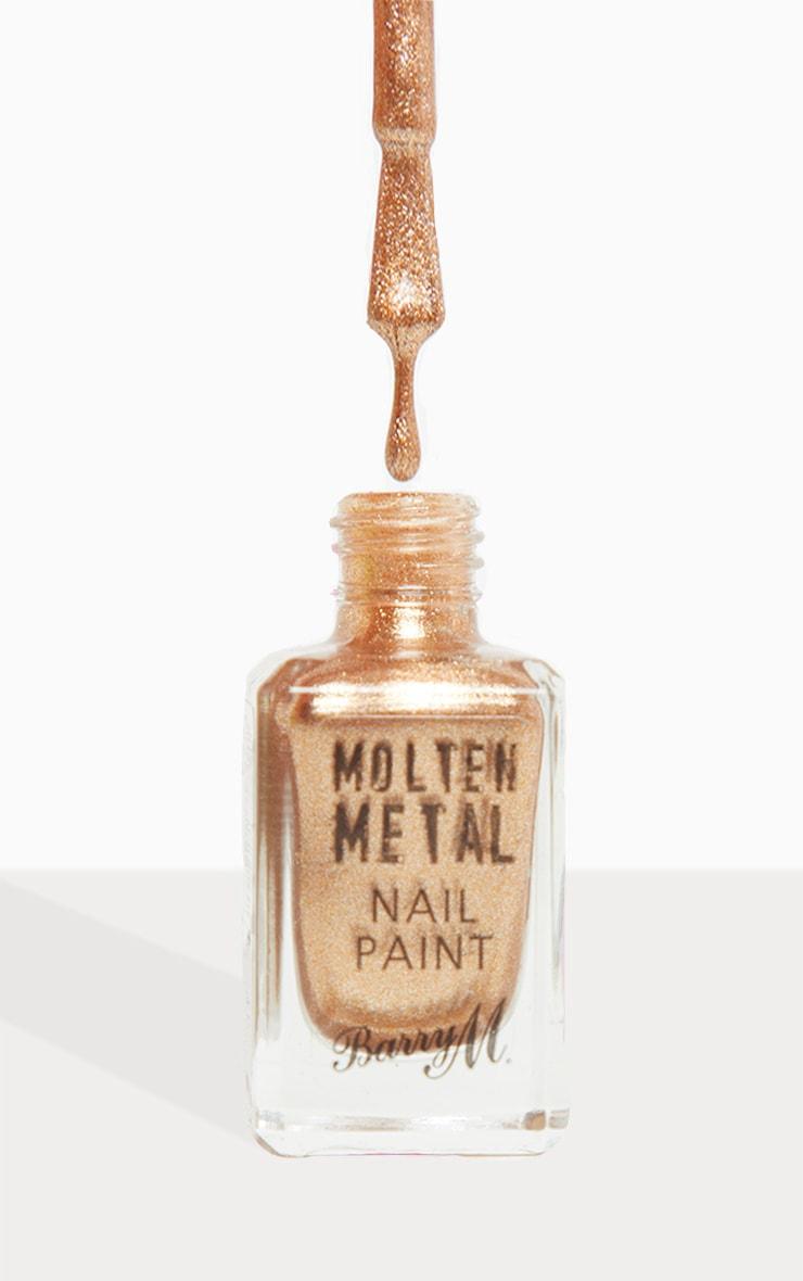 Barry M Molten Metal Bronze Bae Nail Paint 1