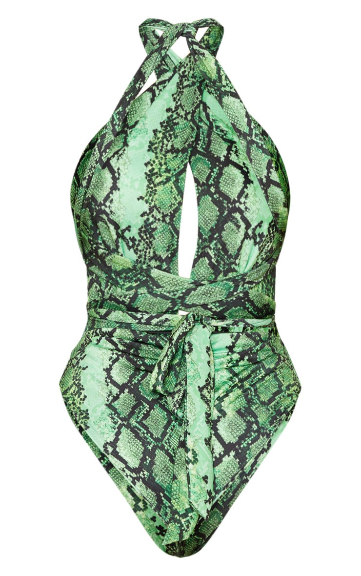 Green Snake Multiway Swimsuit 4