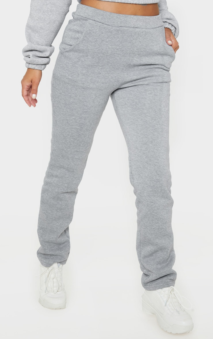 Petite Grey Oversized Sweat Jogger 2