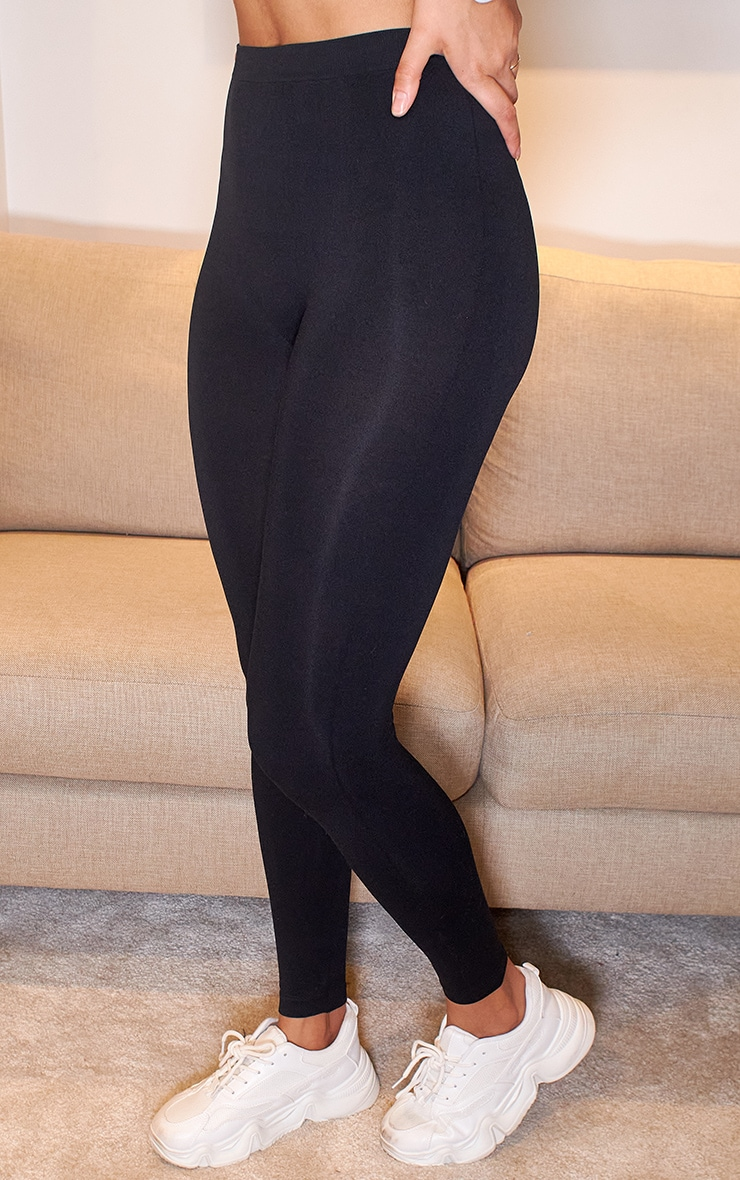 Black Seamless Leggings 2