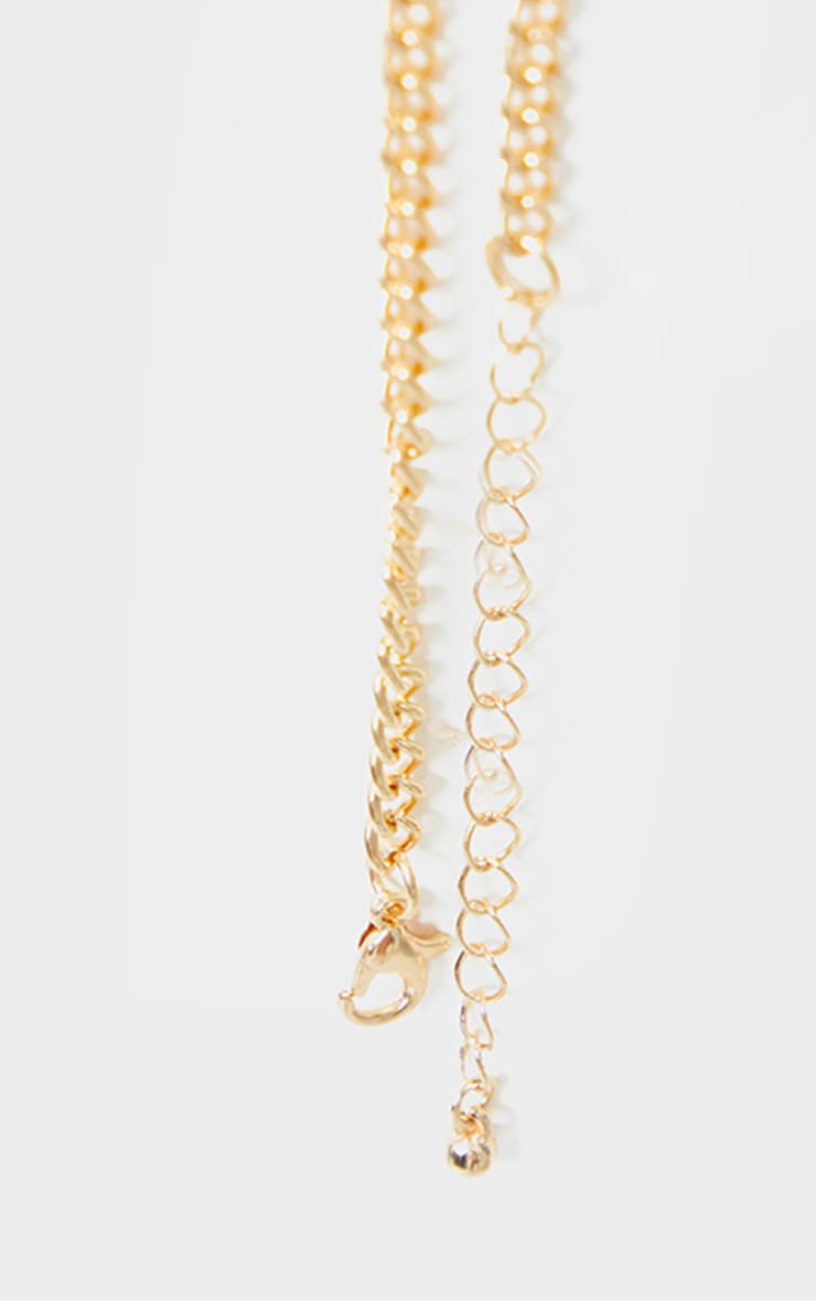 Gold Cherub Layering Necklace 4