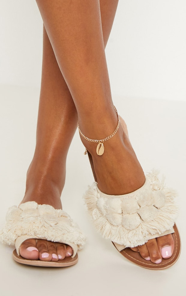 Gold Shell Anklet 1