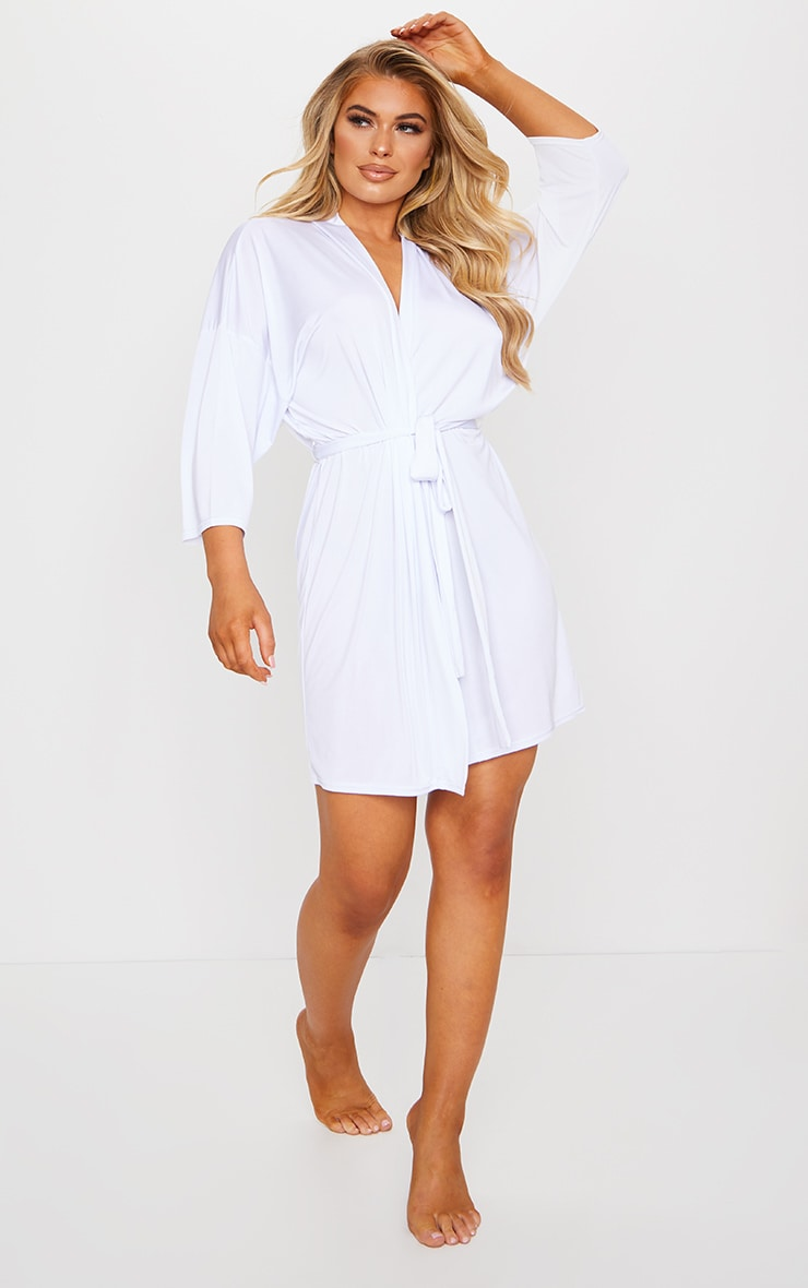 White I Do Crew Hen Party Robe 3