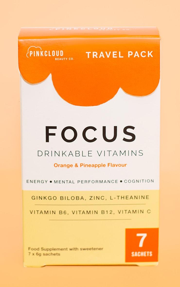 Pink Cloud Focus Drinkable Vitamins 7 Pack 1