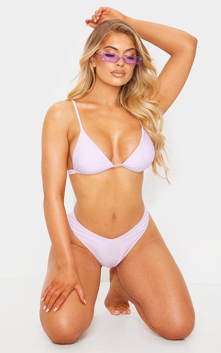Lilac Mix & Match Itsy Bitsy Bikini Top 1