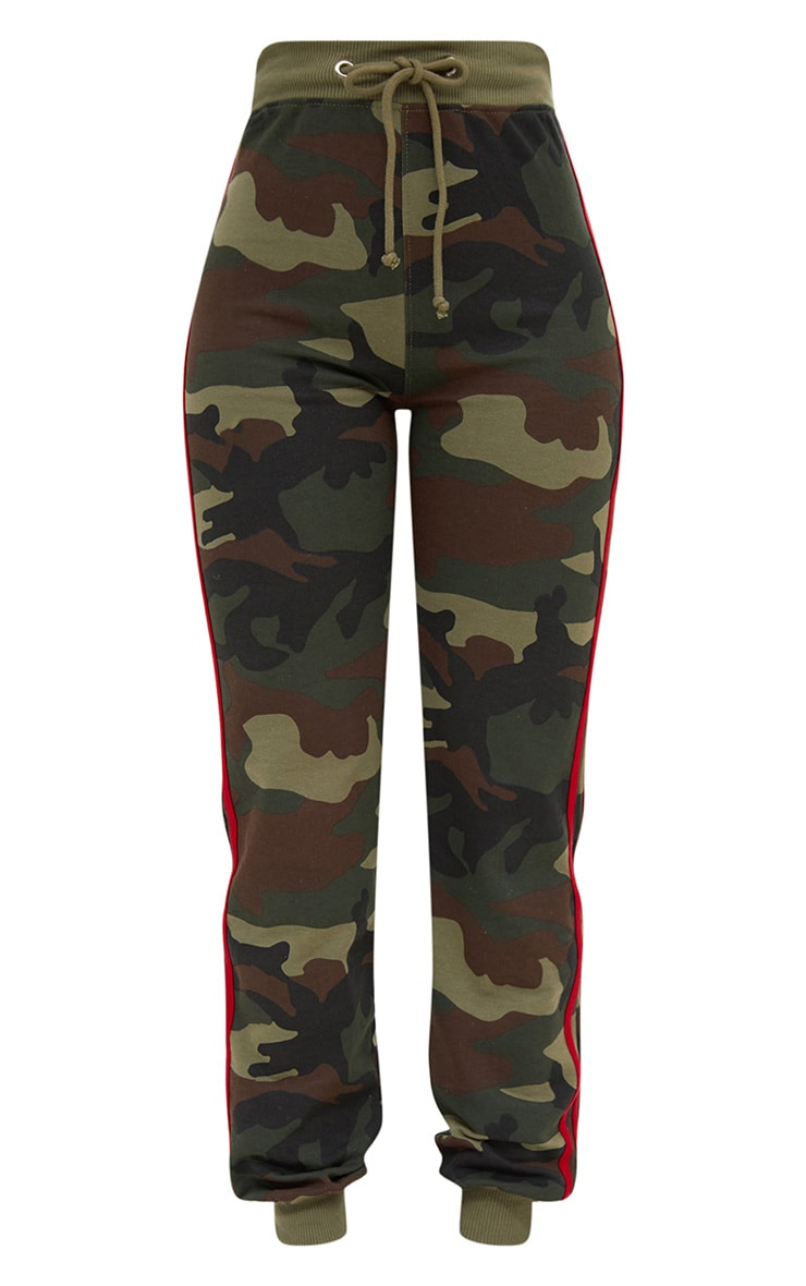 Shape Camo Side Stripe Joggers 3