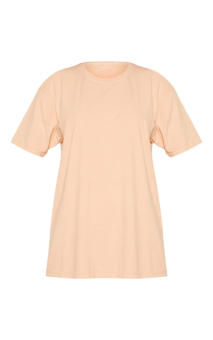 Ultimate Peach Oversized T Shirt 3