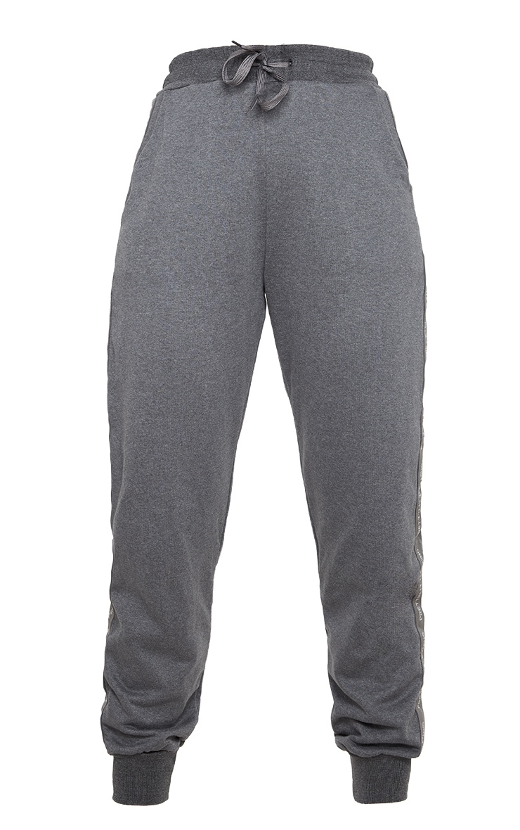 PRETTYLITTLETHING Charcoal Basic Jogger 3
