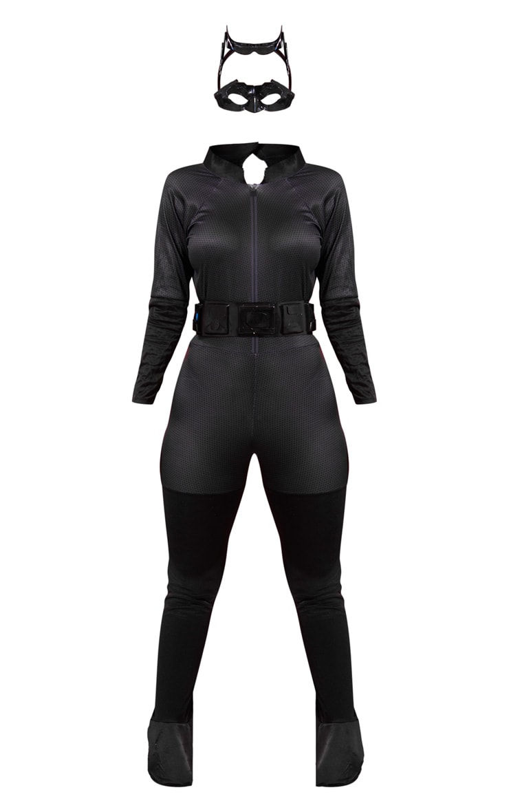 Black The Dark Night Rises Catwoman Costume 3