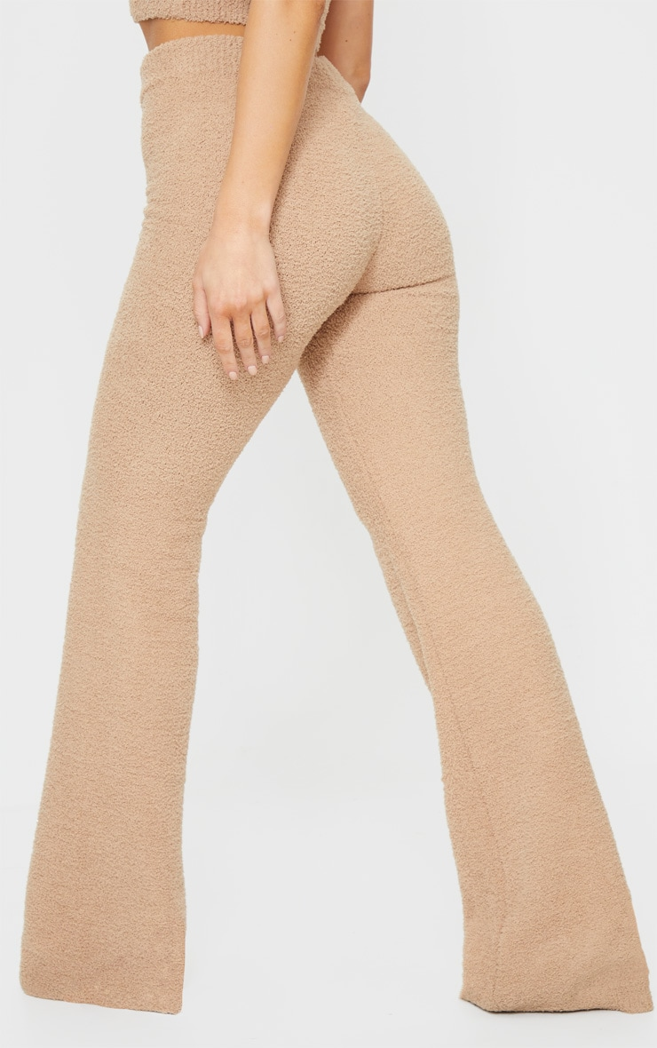 Taupe Chenille High Waist Trouser 3