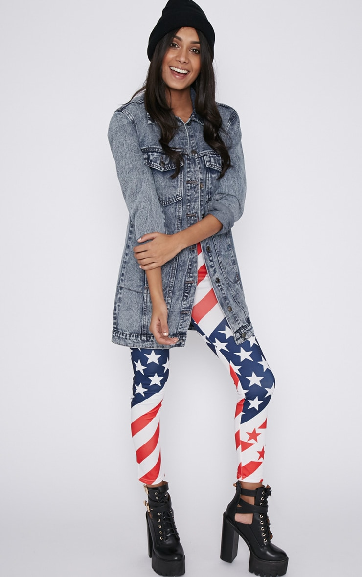 Morgana American Flag Legging  3