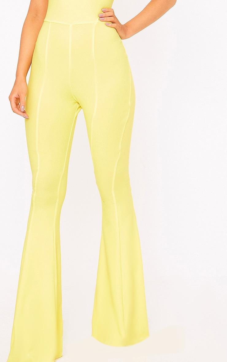 Yellow Bandeau Wide Leg Jumpsuit 5