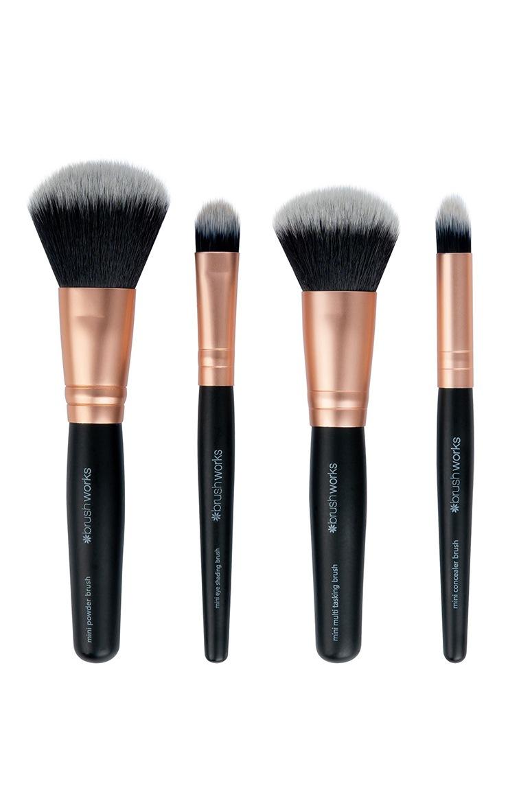 Brushworks Travel Makeup Brush Set 3