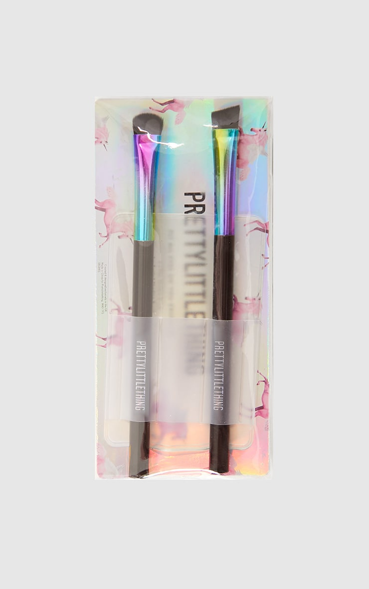 PRETTYLITTLETHING Shade and Blend Essential Brush Set 3