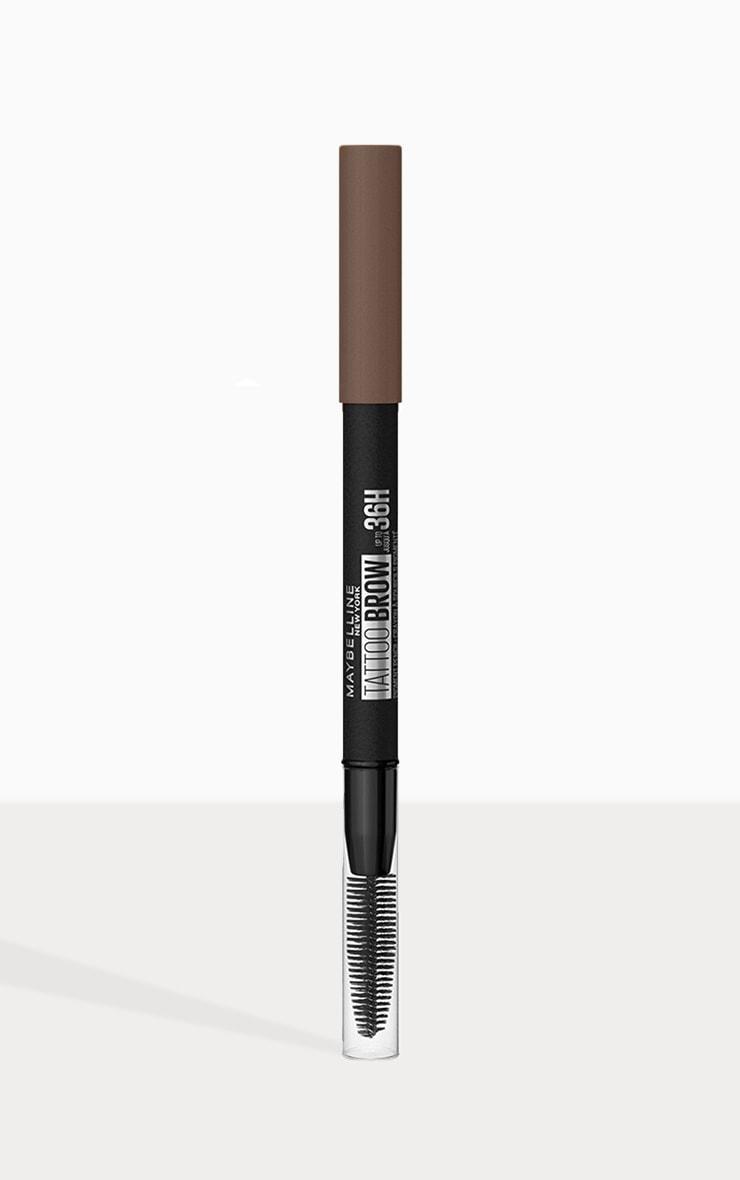 Maybelline Tattoo Brow Semi Permanent 36HR Eyebrow Pencil Medium Brown 05 1