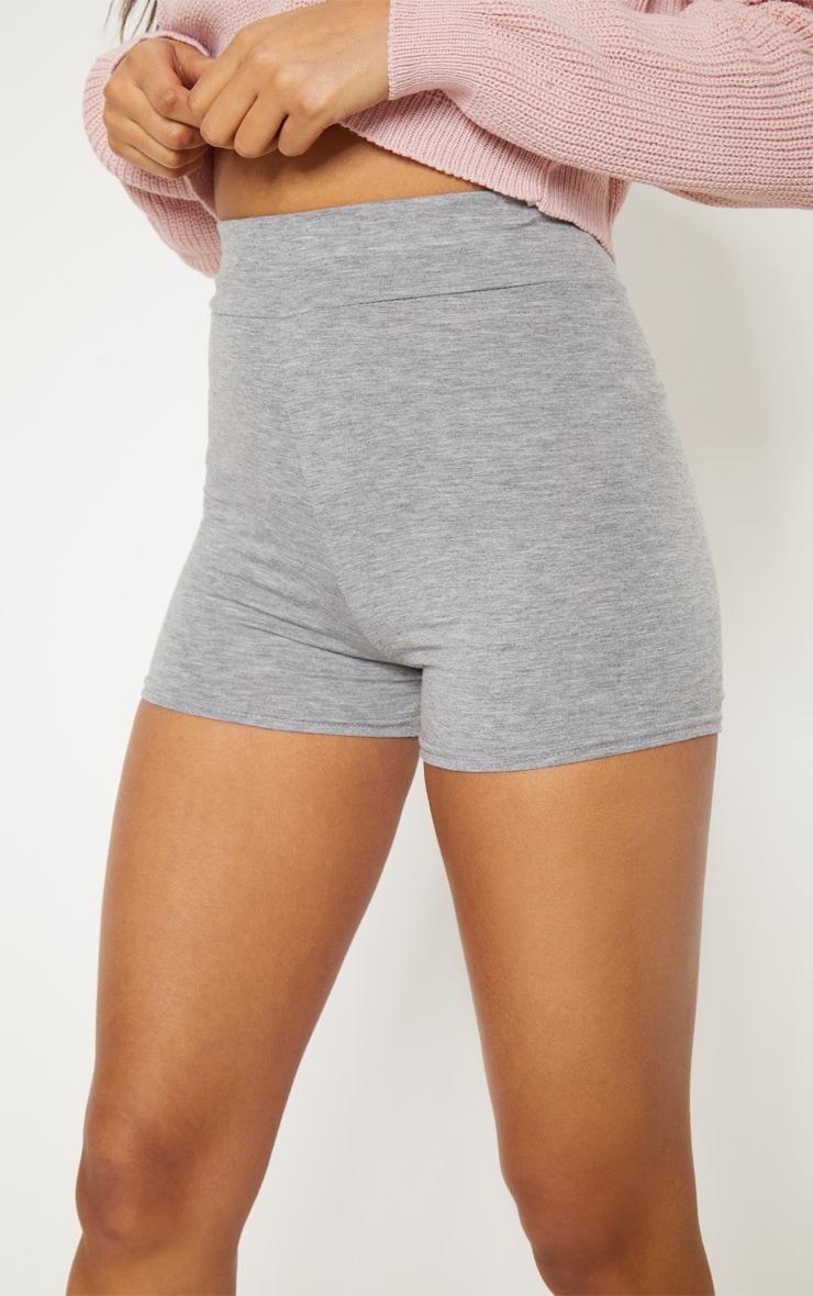 Basic short taille haute gris 6