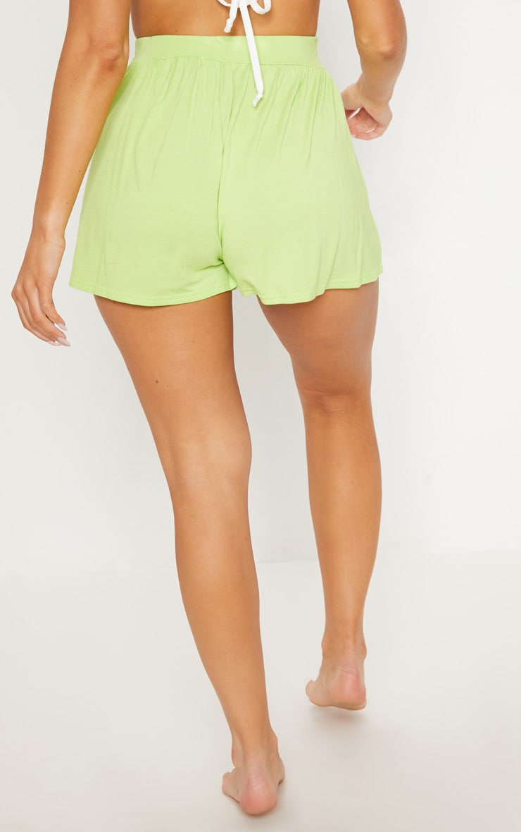 Lime Jersey Floaty Short 4