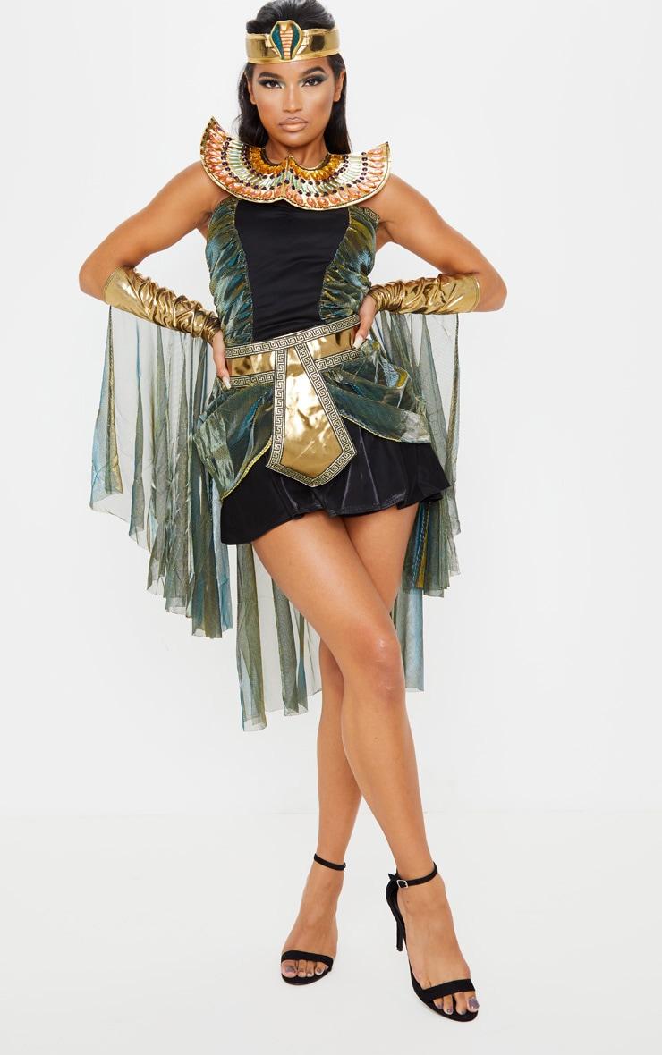 Black Sexy Egyptian Goddess Costume 1