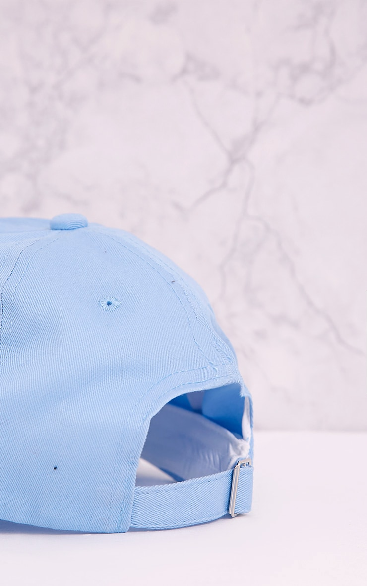 Dope Slogan Blue Baseball Cap 5