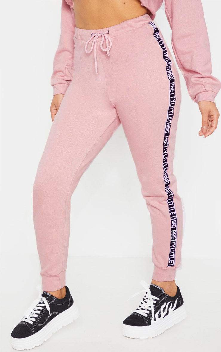 PRETTYLITTLETHING Petite - Jogging rose 2