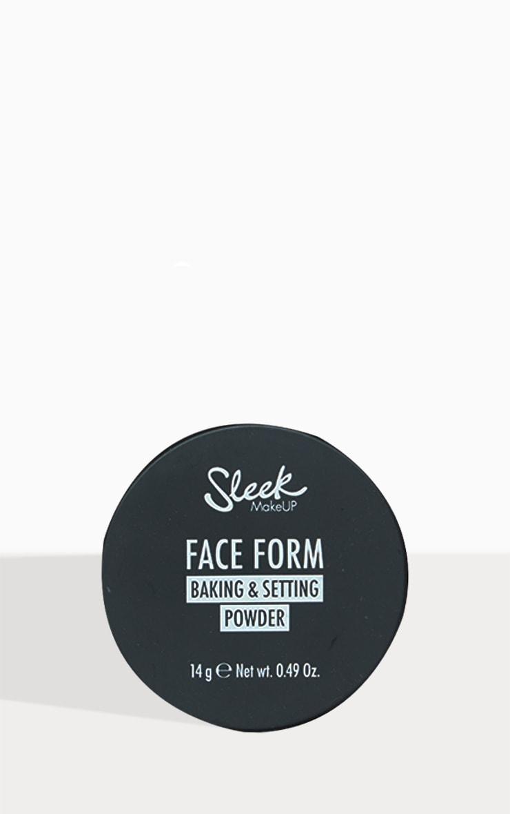Sleek MakeUP Face Form Baking & Setting Powder Banana 3