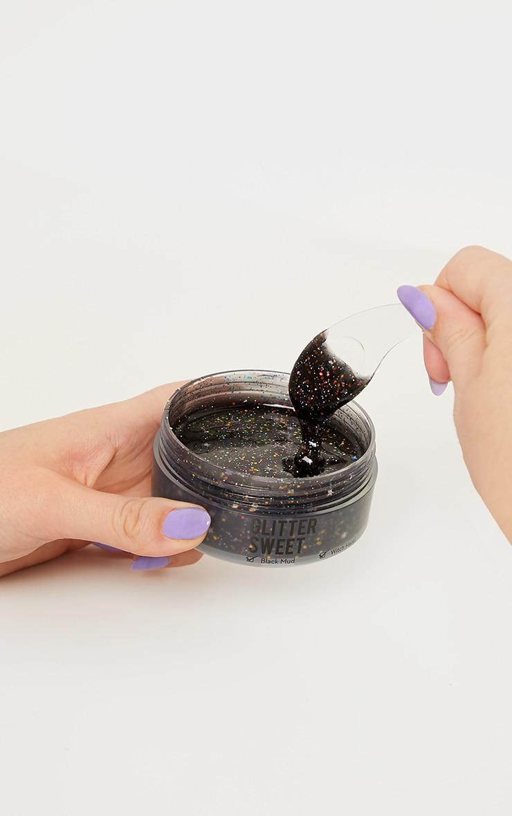 The Crème Shop Glitter Sweet Black Glitter Illuminating Mask