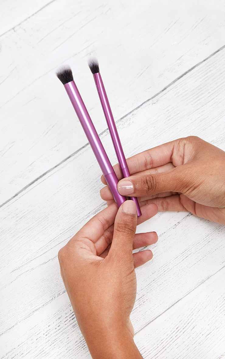 Real Techniques Make Up Brushes Eye Shade & Blend Duo 2