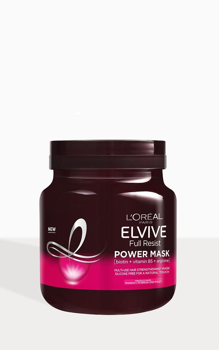 L'Oreal Elvive Full Resist Fragile Hair Multi-Use Hair Strengthening Power Mask 680ml 1