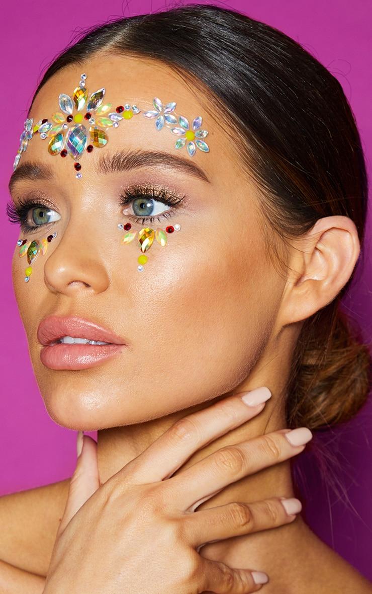 Go Get Glitter Daisy Chain Face Jewel 1