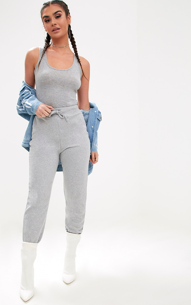 Grey Ultimate Marl Sweat Joggers