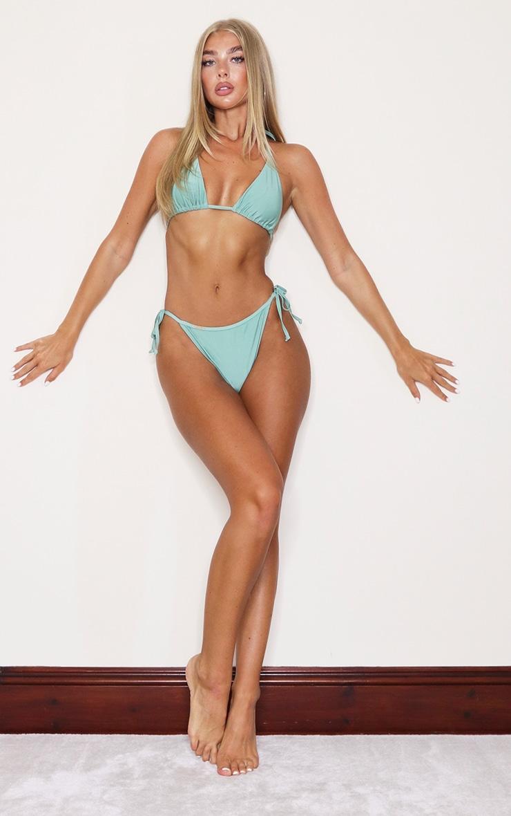 Jade Green Mix & Match Triangle Bikini Top 3