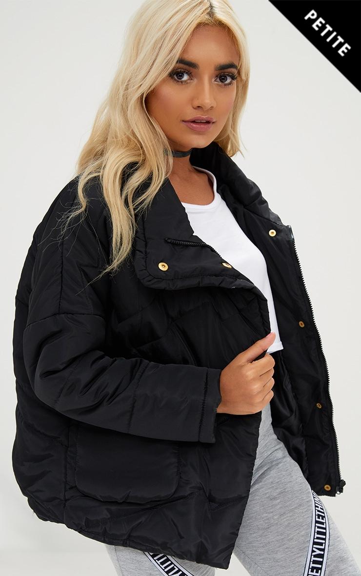 Womens Nine West Cropped Puffer Jacket