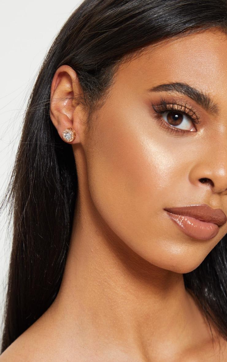 Crystal Stud Earrings 2