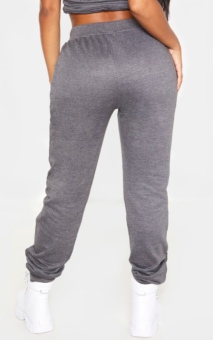 Shape Charcoal Sweat Drawstring Joggers 4